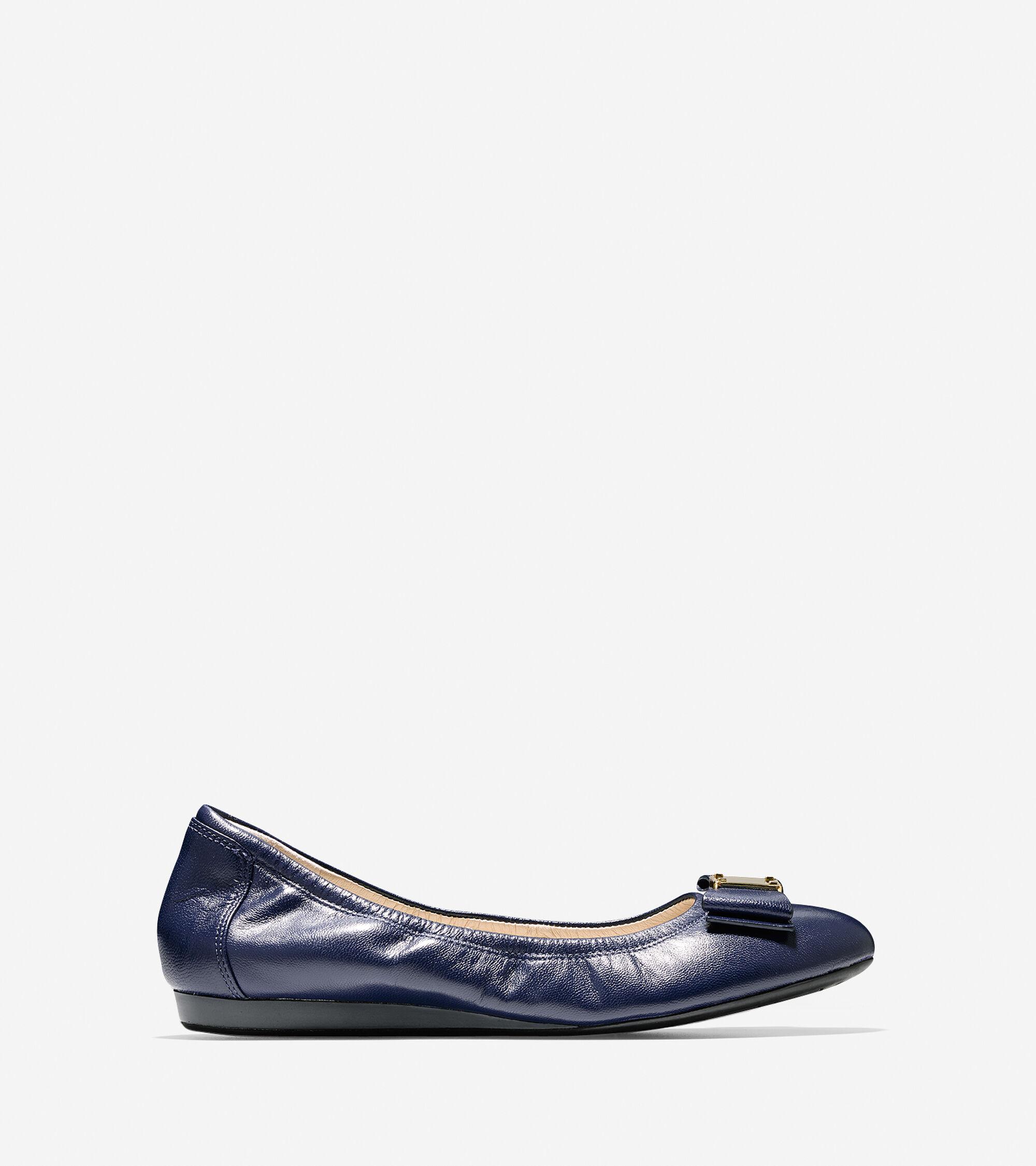 e2a9d812836 Women s Tali Bow Ballet Flats in Blazer Blue