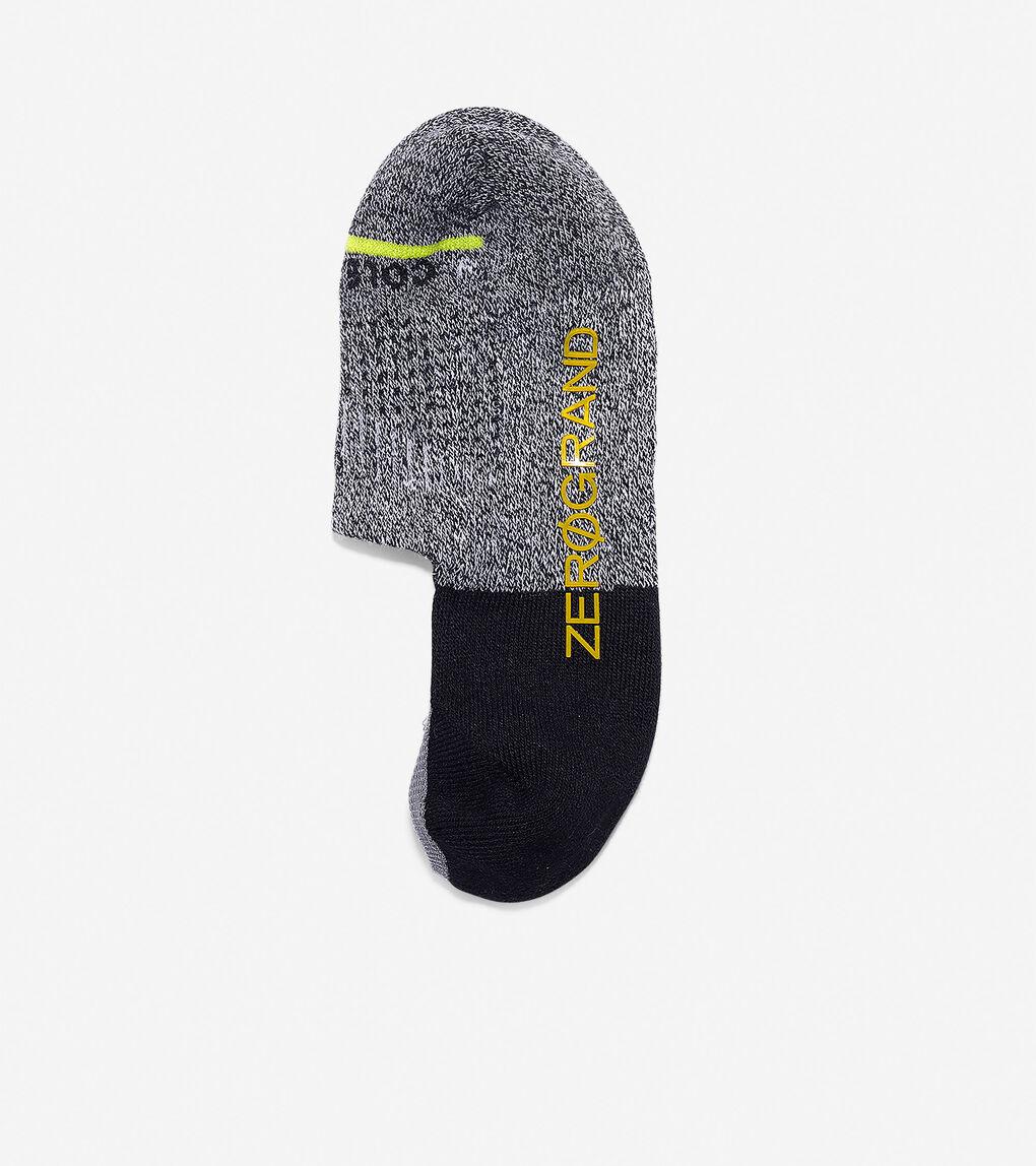 Mens ZERØGRAND Melange Blocked Sock Liner