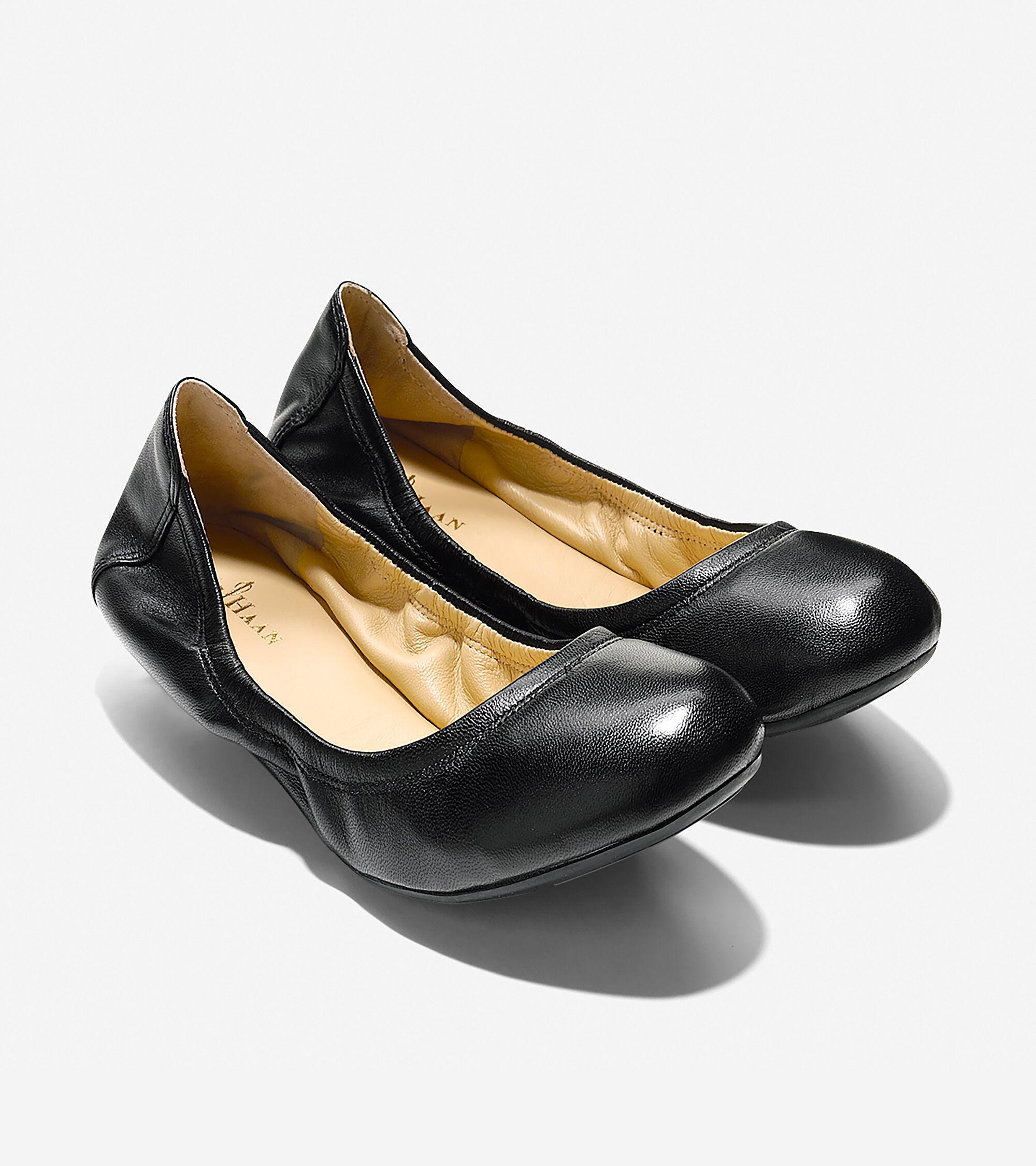Women's Manhattan Ballet Flat in Black