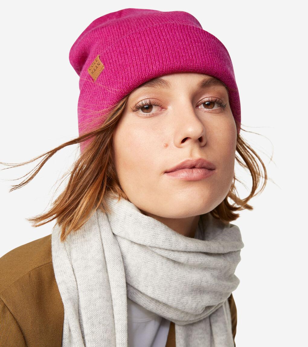 WOMENS GRANDSERIES Cashmere Wool Beanie