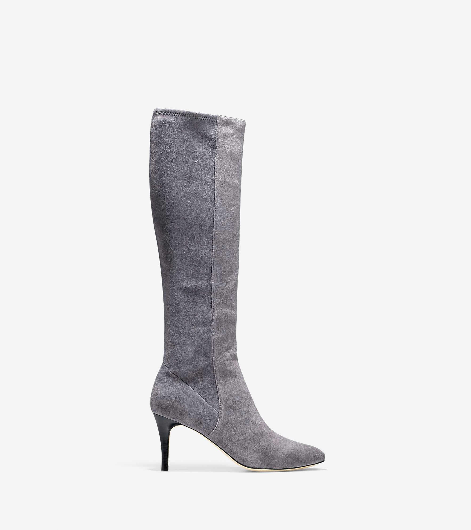e651bac20ff Barnard Boots (75mm) in Stormcloud Suede