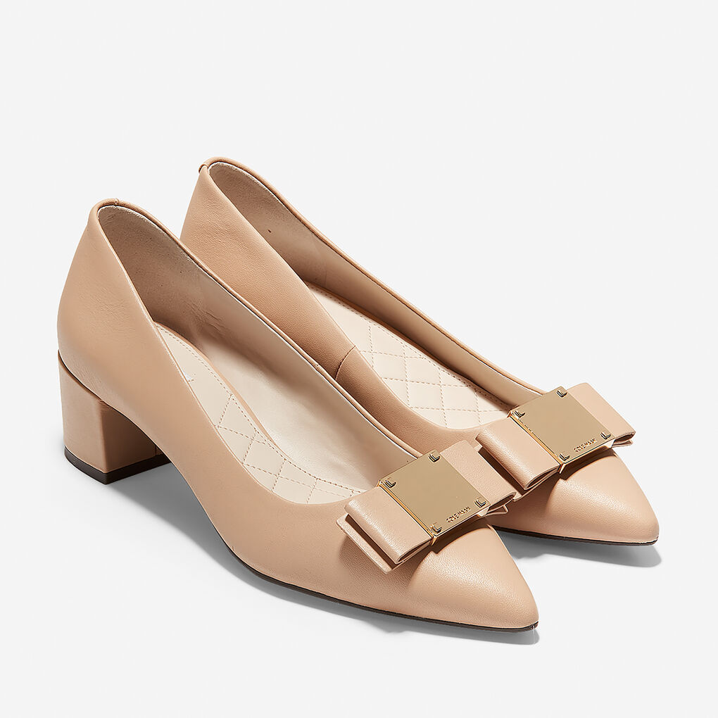 Womens Tali Modern Bow Pump (45mm)