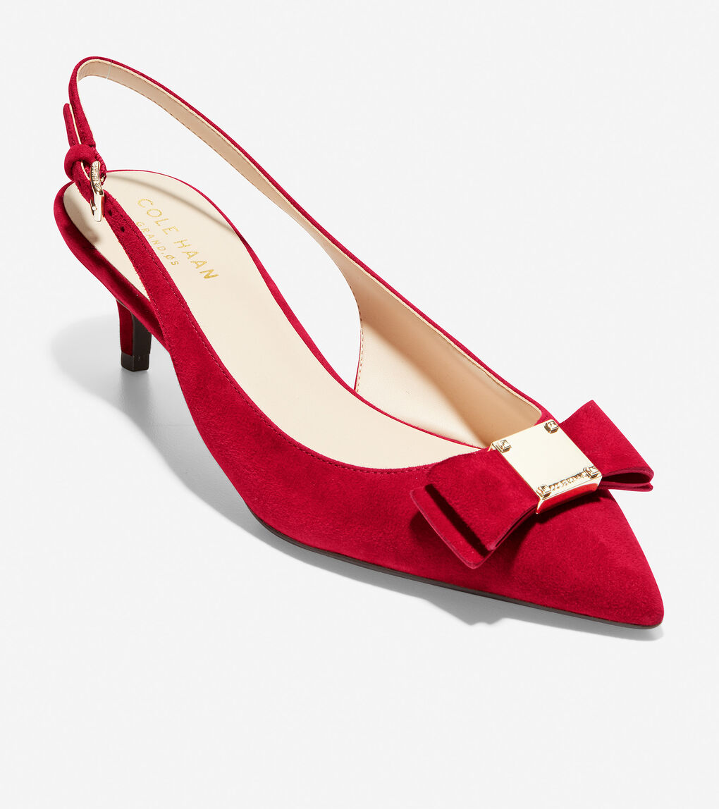 WOMENS Tali Bow Slingback Pump