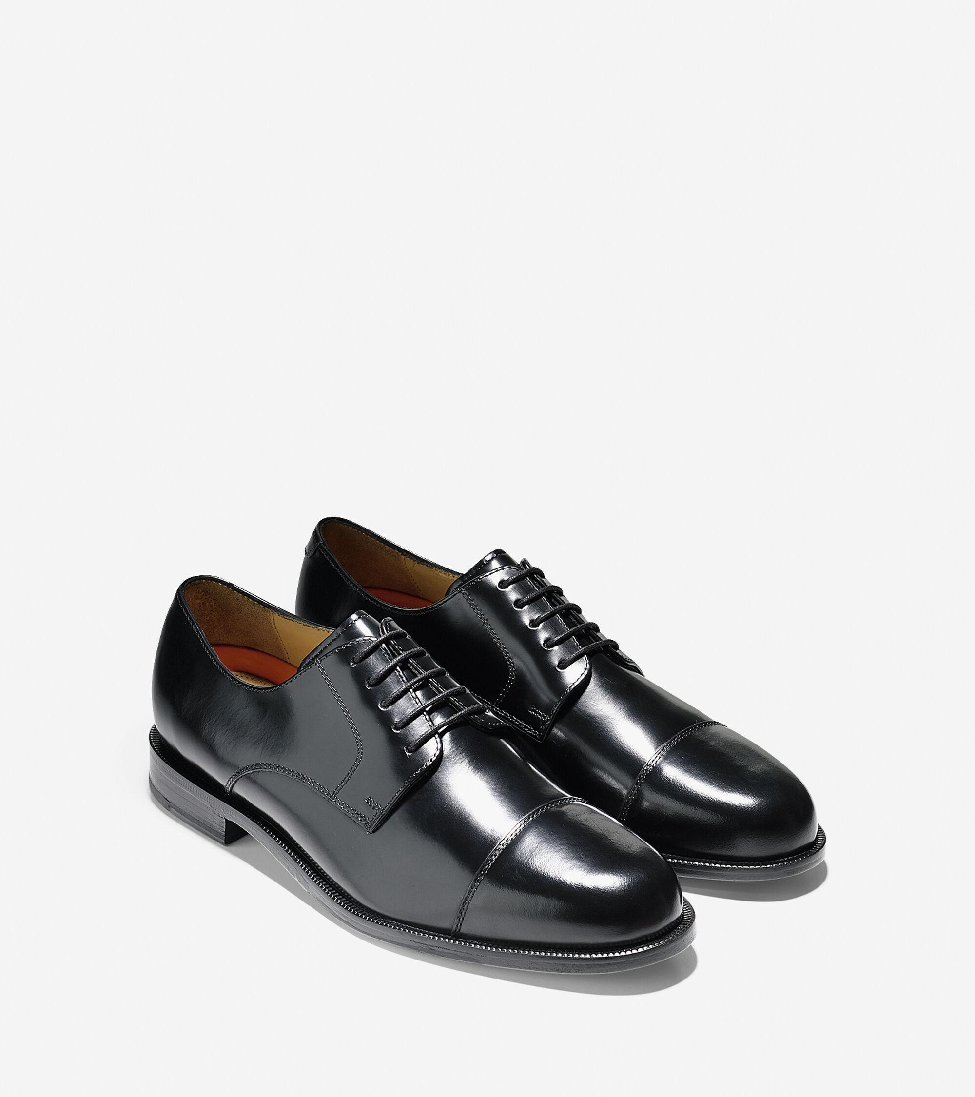 91e40510b46 Men s Carter Grand Cap Toe Oxfords in Black