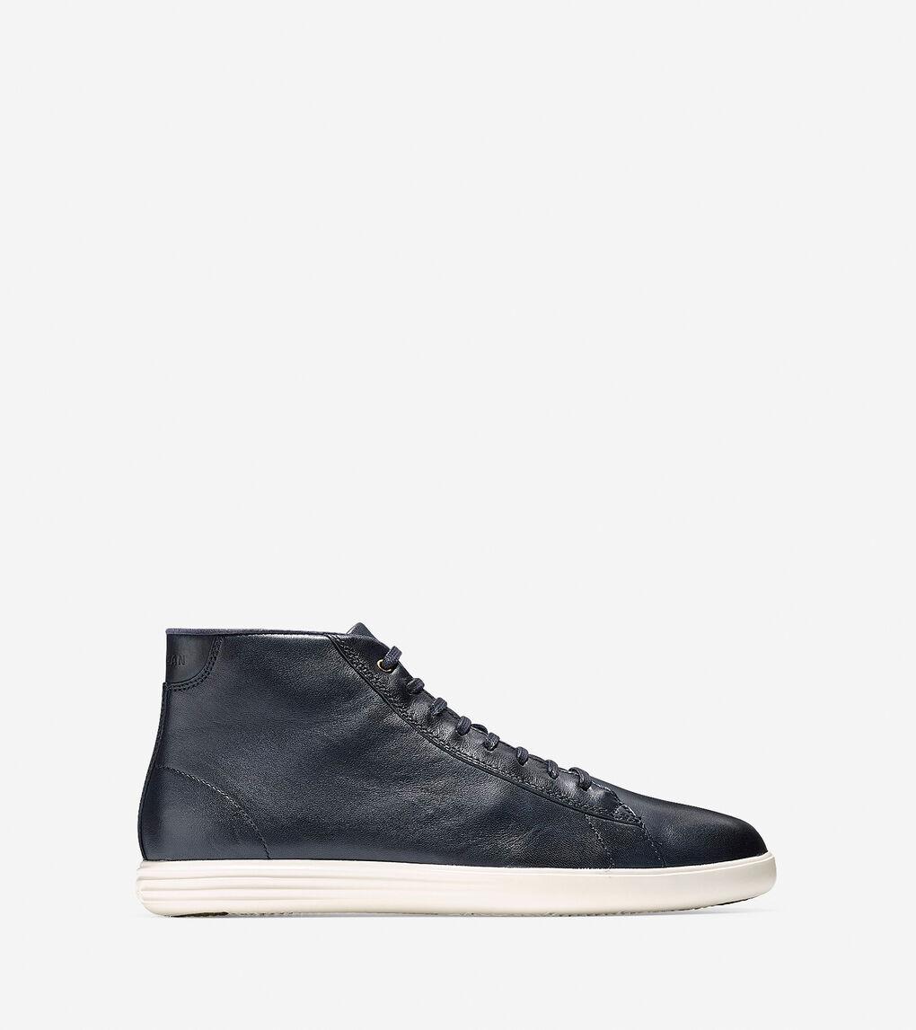 Mens Grand Crosscourt High Top Sneaker
