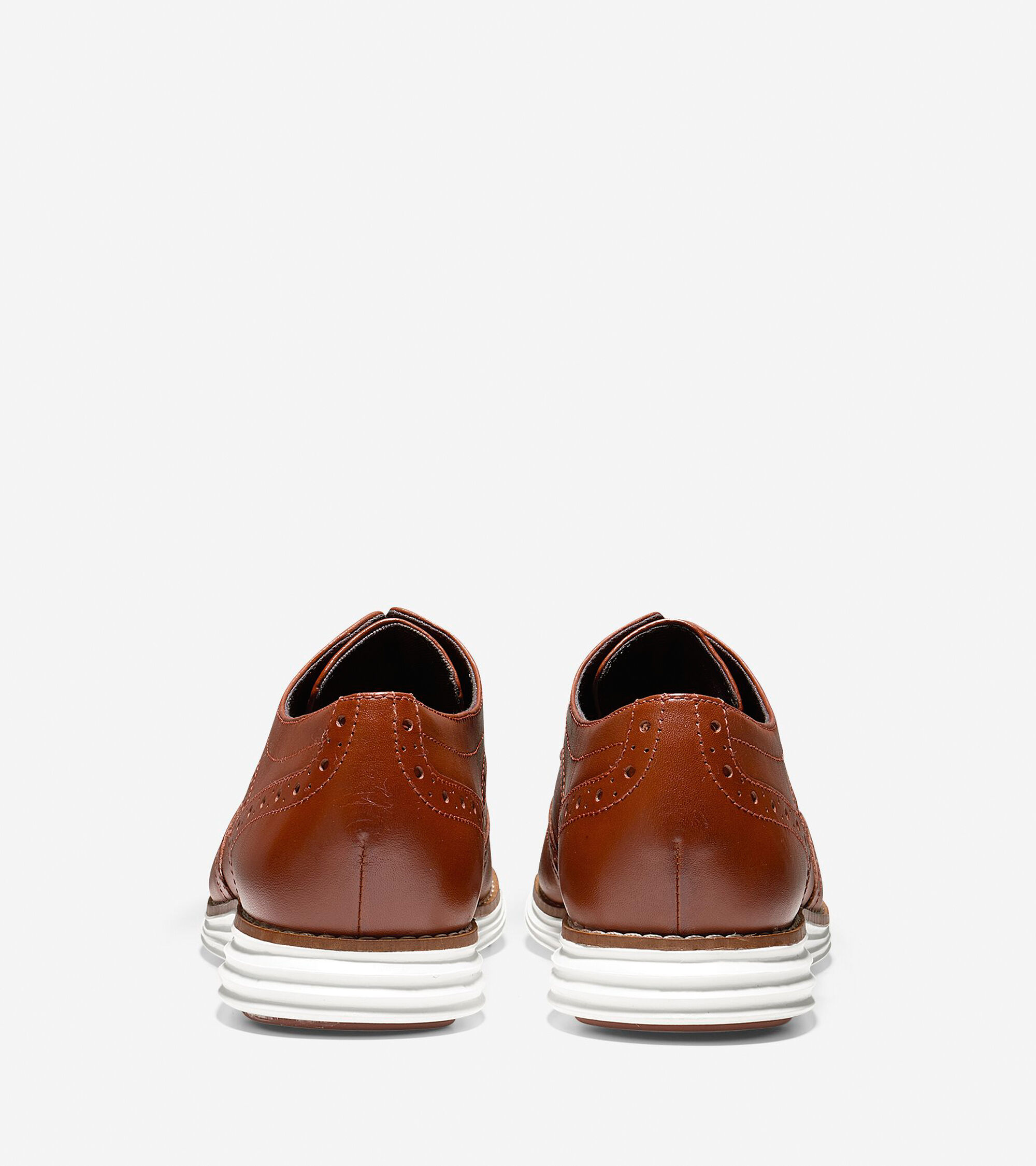 4f7d70724d04 Women s OriginalGrand Wingtip Oxfords in Brandy Brown-White