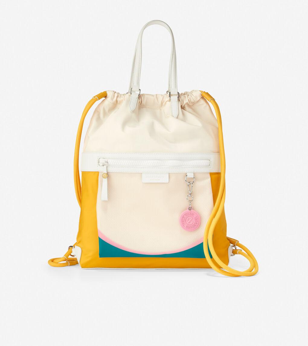 WOMENS Radiant Nylon Drawstring Backpack