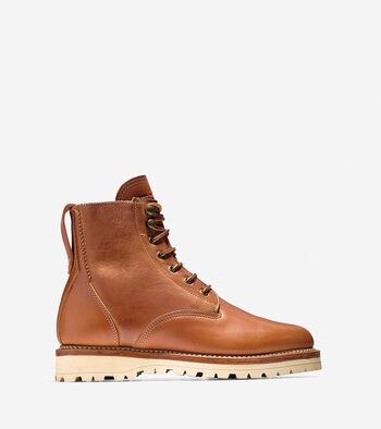 Maine Rugged Plain Toe Boot