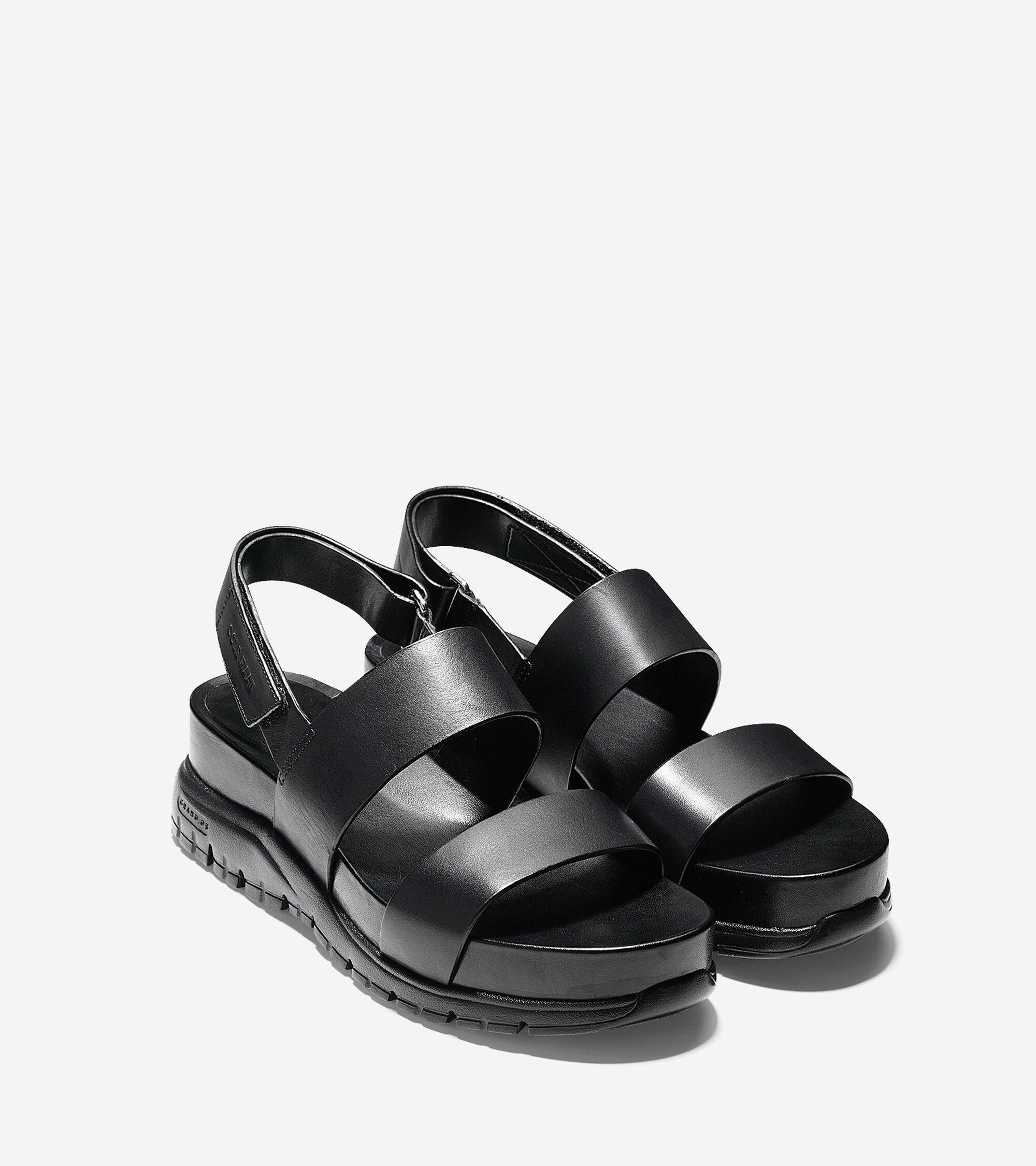 496bd8f80b6 Women s ZEROGRAND Slide Sandals in Black