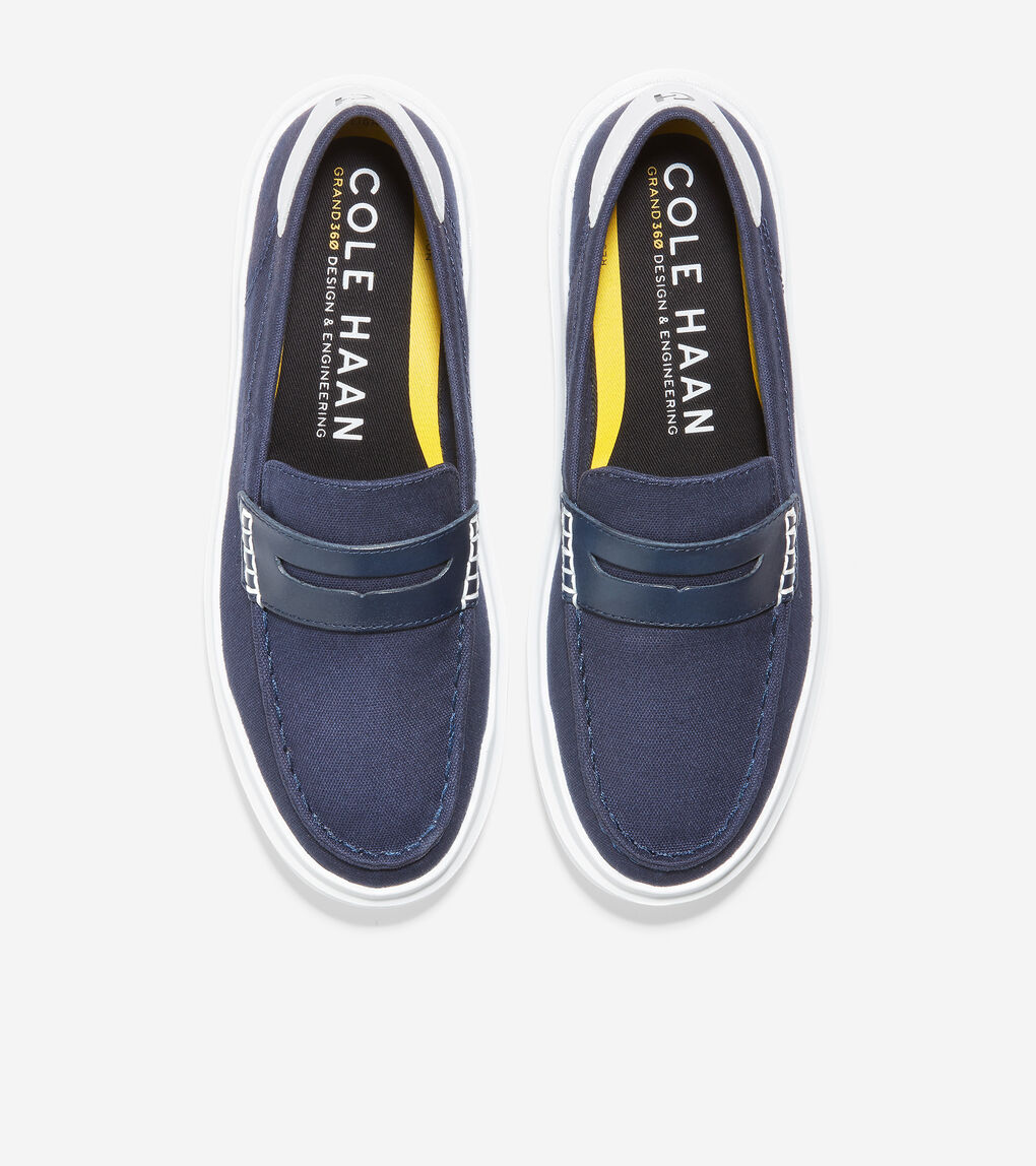 WOMENS GrandPrø Rally Canvas Penny Loafer