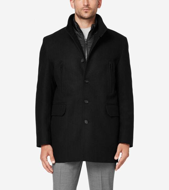 Outerwear > Melton 3-in-1 Wool Topper