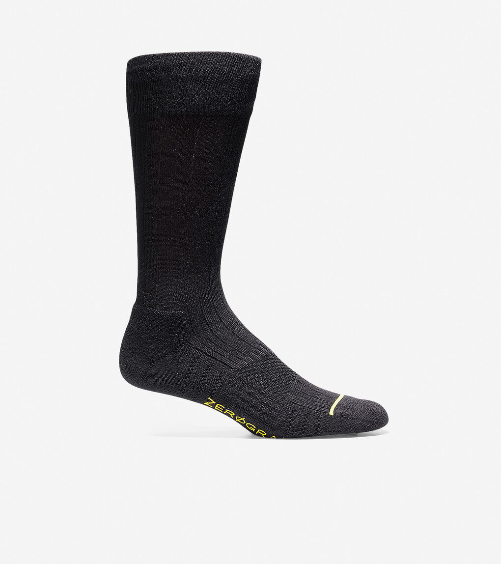 Mens ZERØGRAND Rib Crew Socks