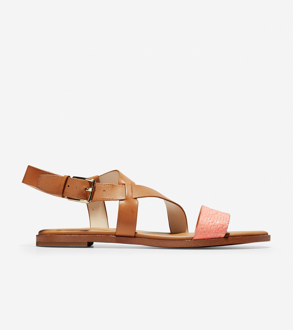 Womens Findra Strappy Sandal