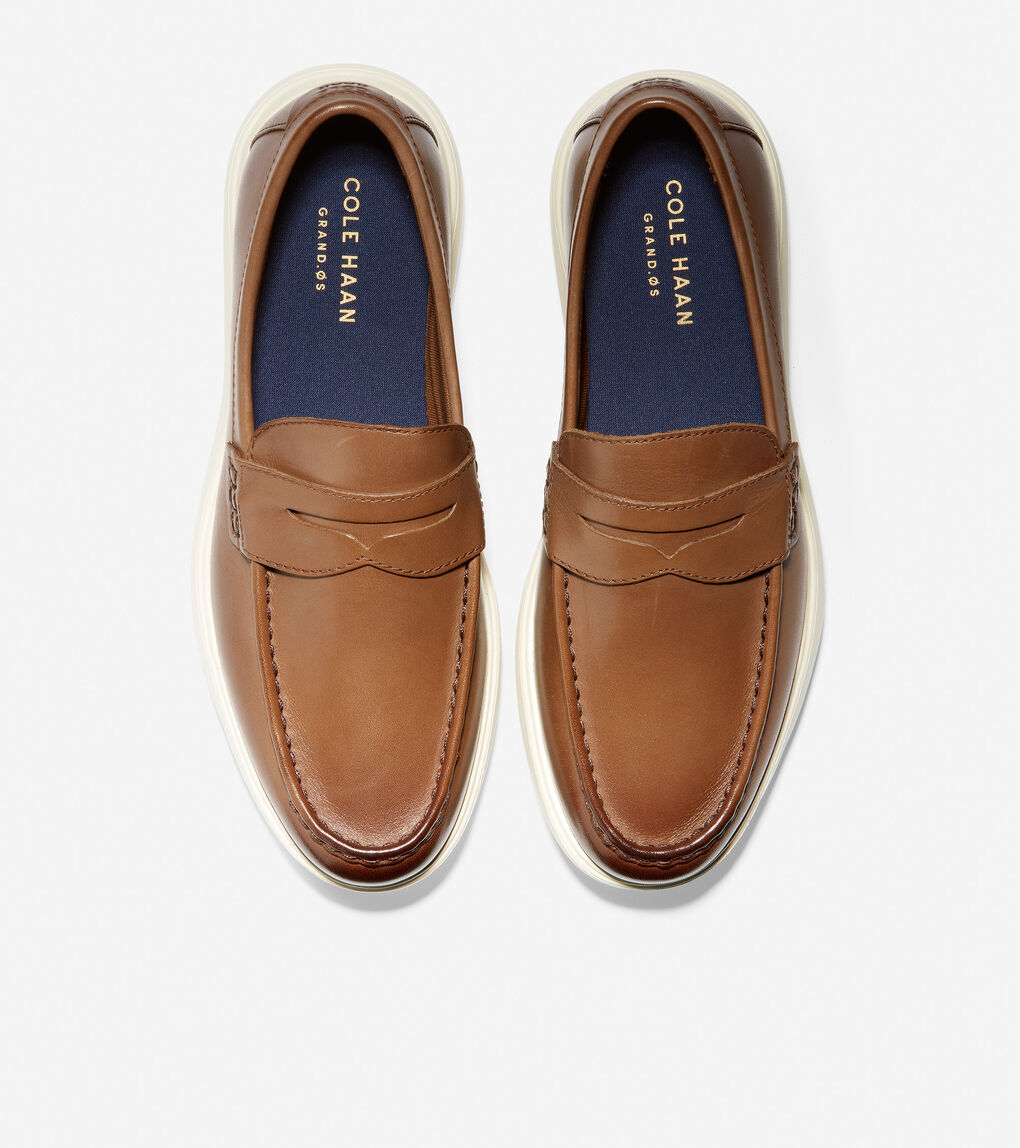 MENS Grand Plus Essex Wedge Penny Loafer