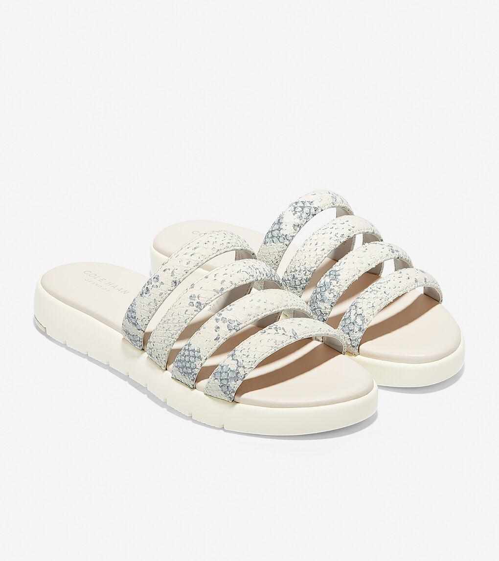 Womens ZERØGRAND Multi Strap Sandal