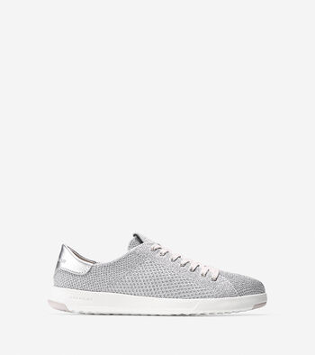 Women's GrandPrø Tennis Sneaker with Stitchlite™