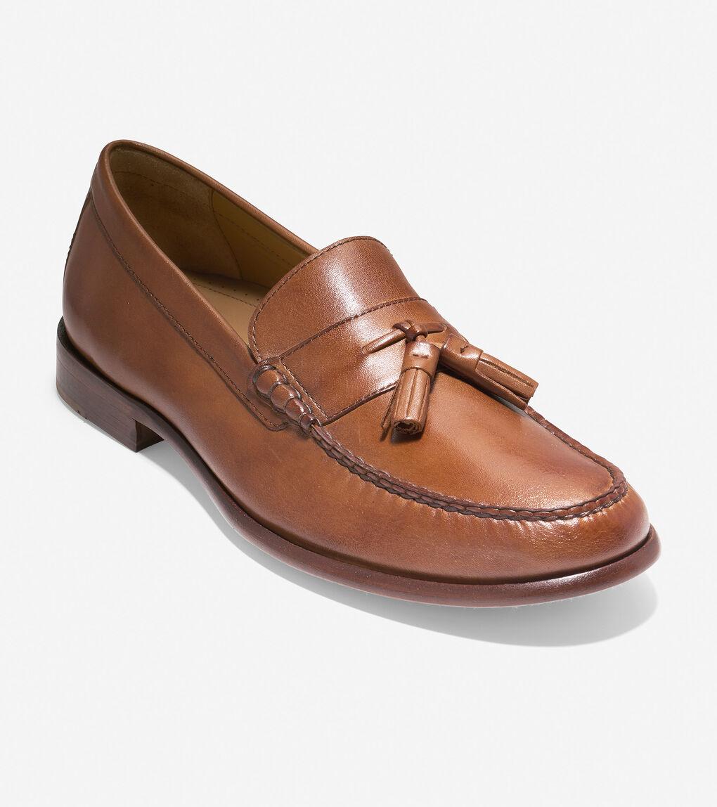 MENS Pinch Handsewn Tassel Loafer