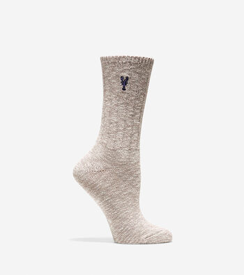 Pinch Cotton Rag Crew Sock