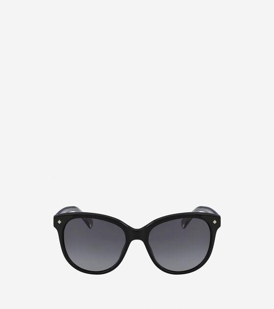 Sunglasses > Acetate Weave Rounded Square Sunglasses