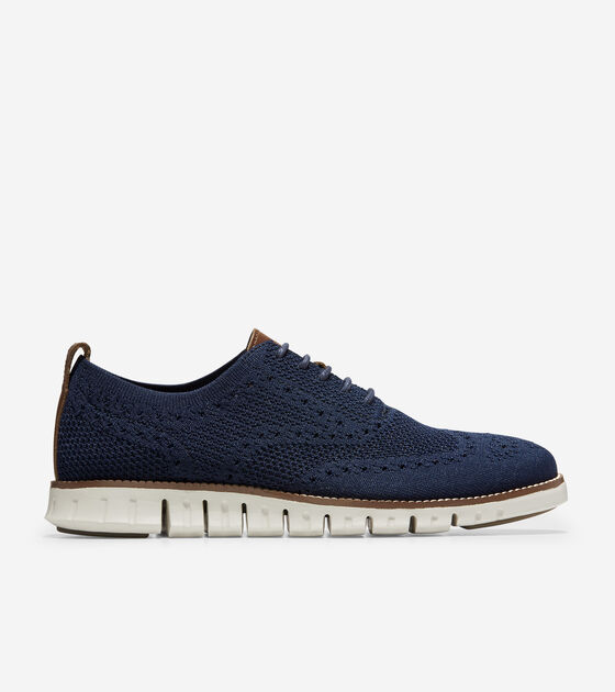 Oxfords > Men's ZERØGRAND Wingtip Oxford with Stitchlite™