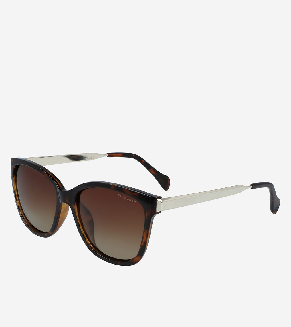 Womens Classic Square Sunglasses