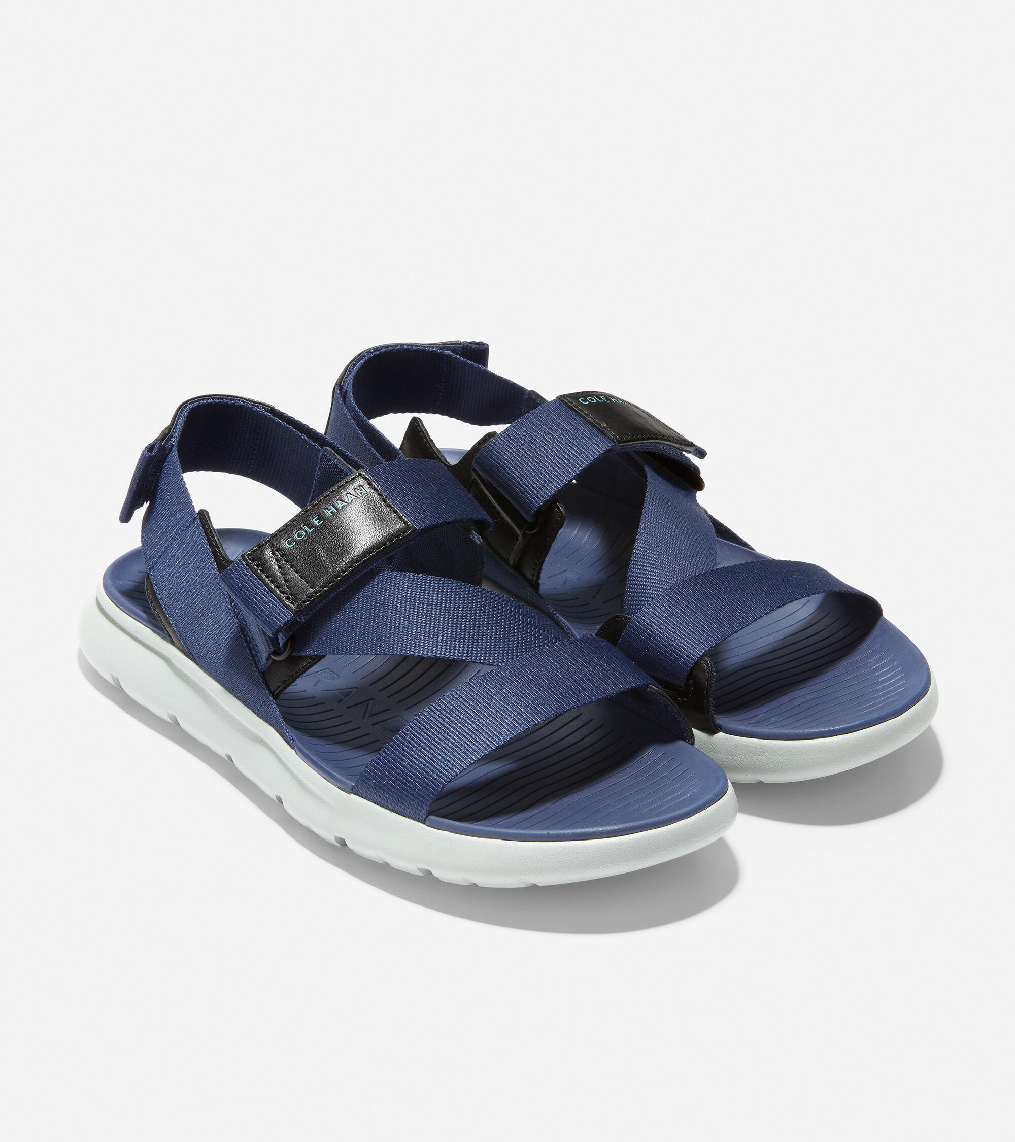 Explore Sandal in Marine Blue-Birch