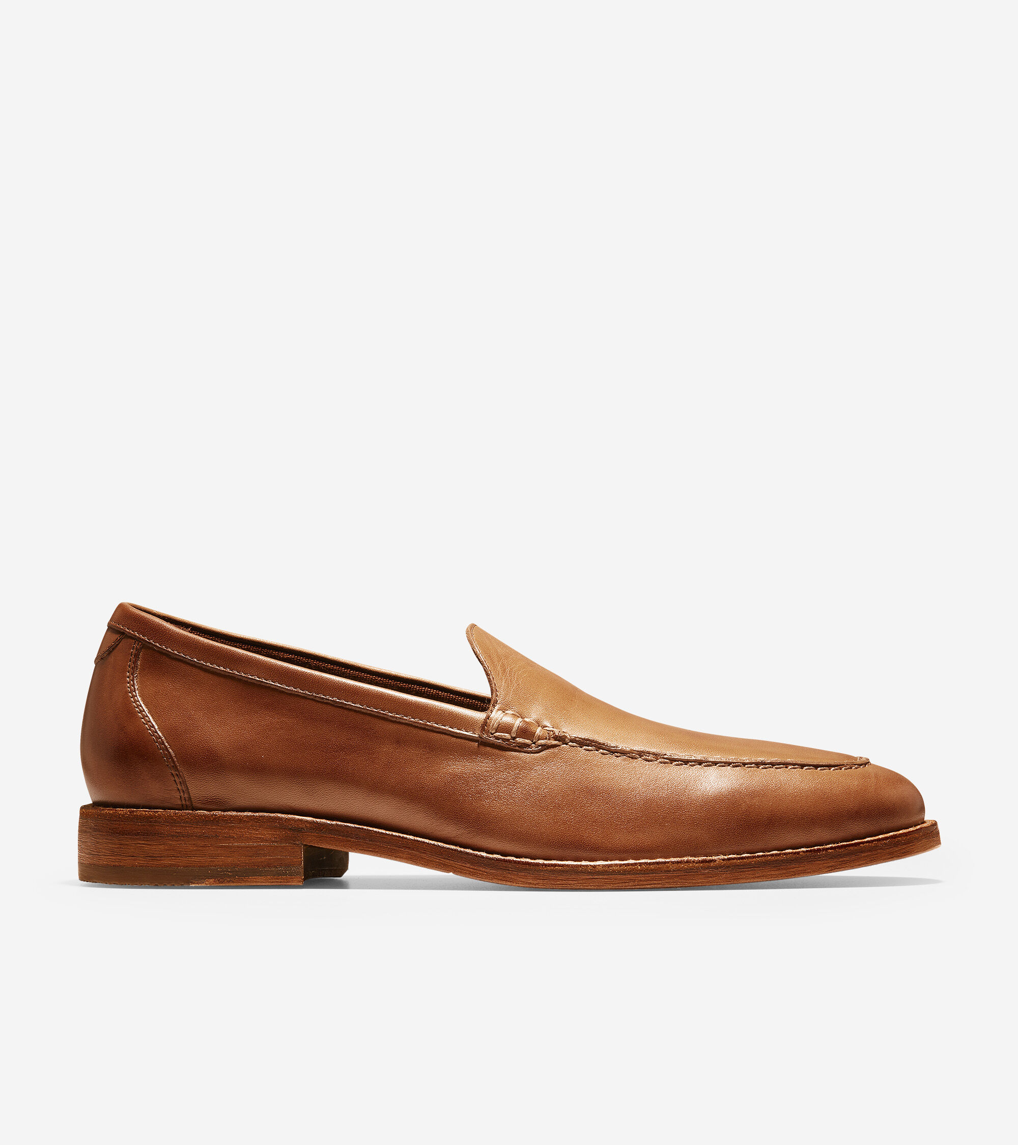 Cole Haan Men's Feathercraft Grand Venetian Loafers In British Tan