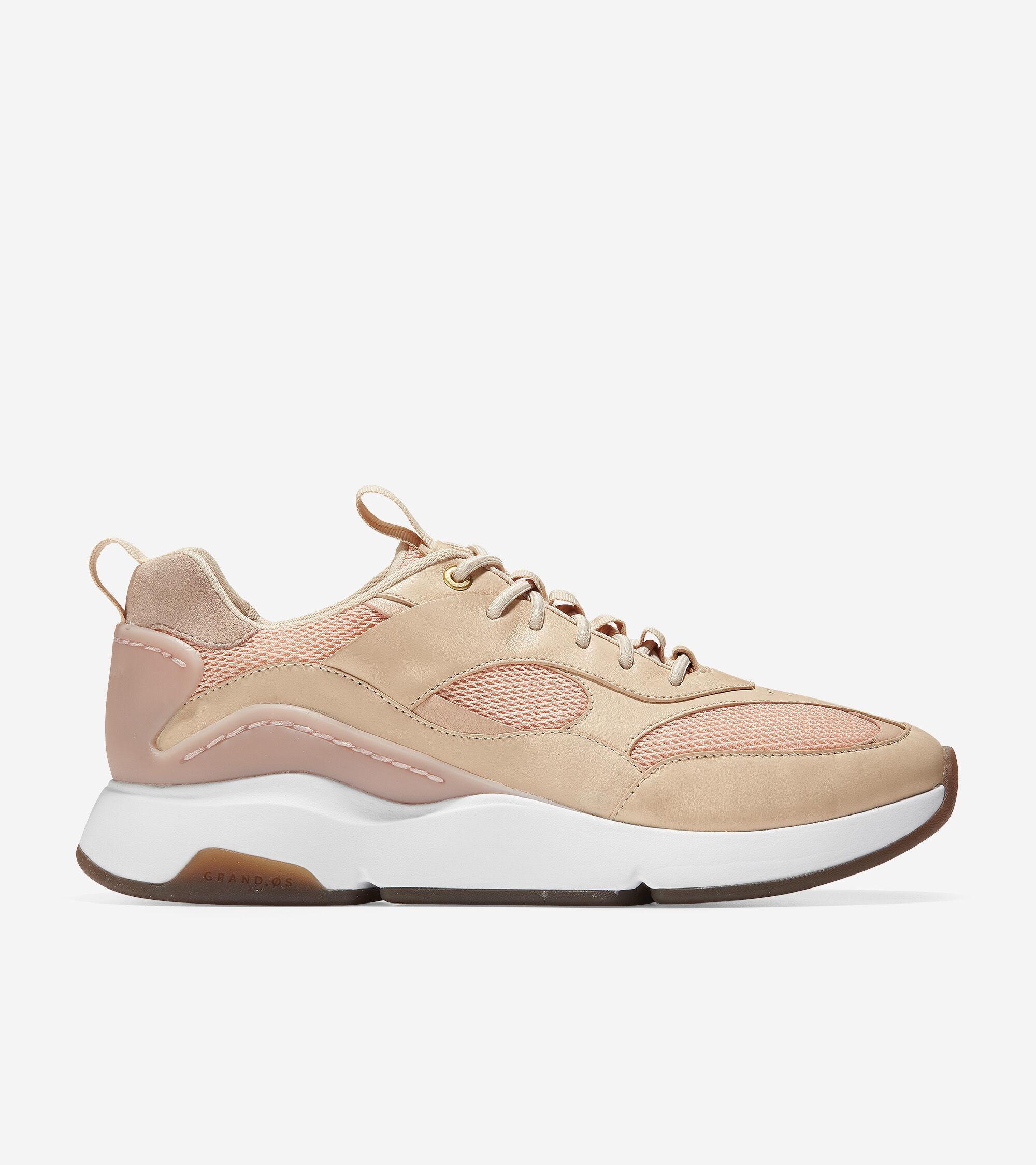 City Sneaker in Dusty Pink