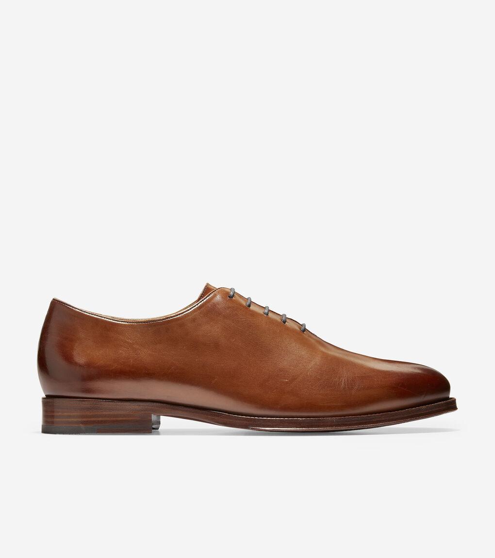 3203e77b850 Mens Cole Haan American Classic Gramercy Derby Wholecut Dress Oxford