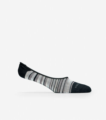 Town Stripe No-show Sock Liner - 2 Pack