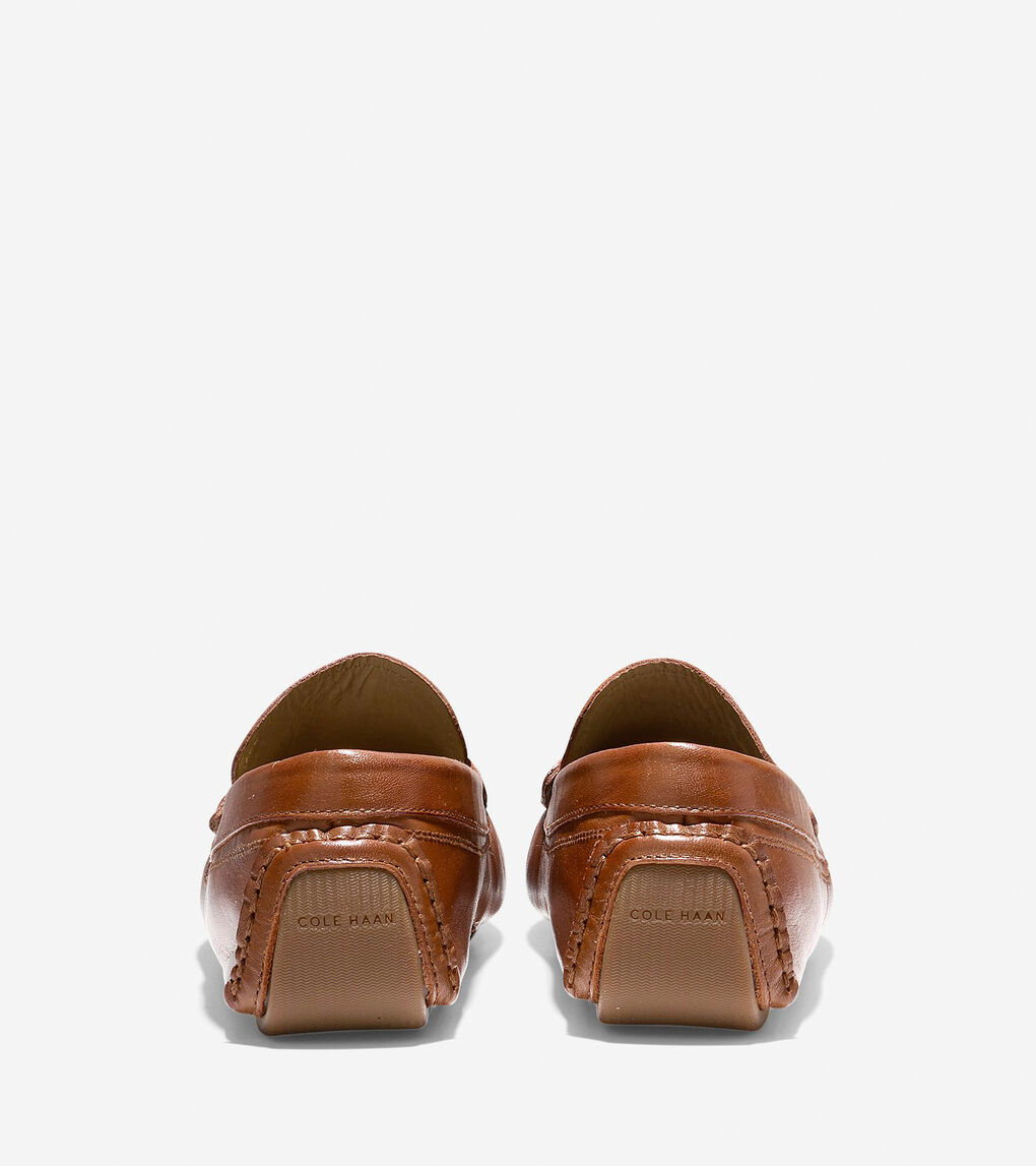 Women S Rodeo Penny Driver In Luggage Leather Gum Cole