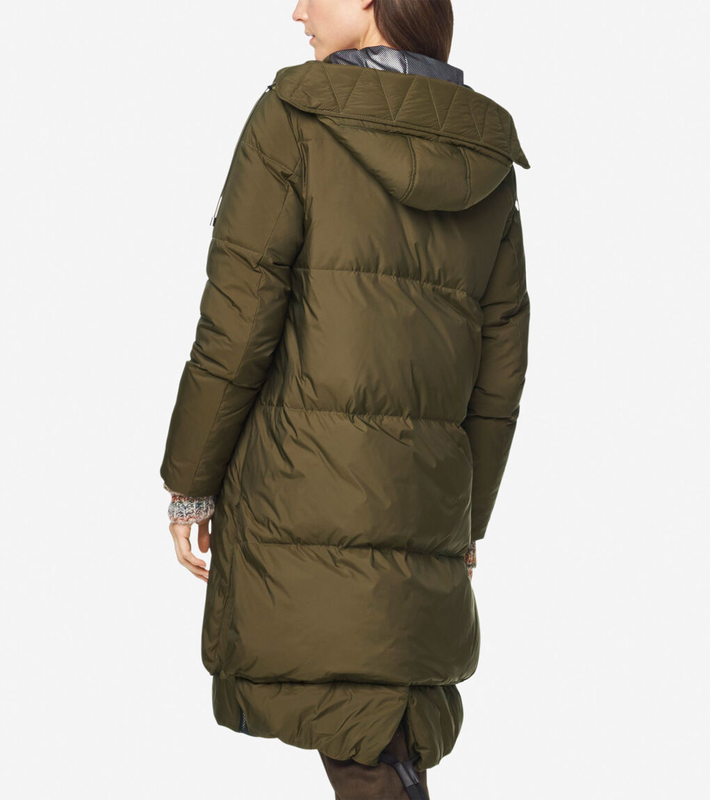 Womens GRANDSERIES Marshmallow Down Coat