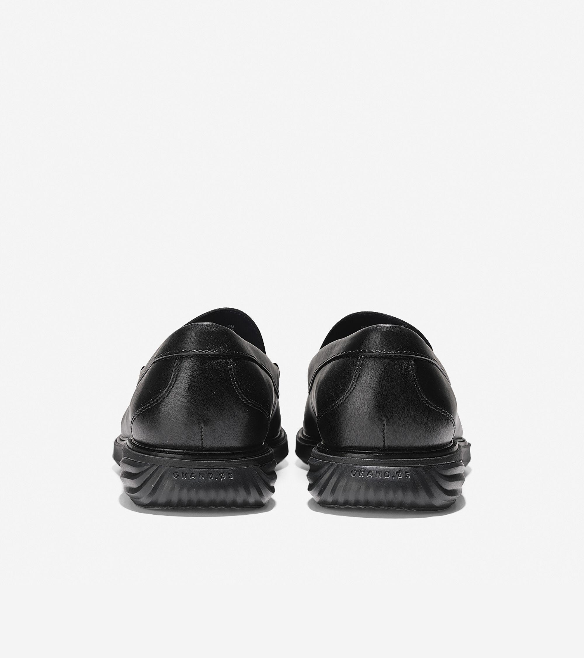63c34aff40c Cole Haan Men s GrandEvølution Venetian Loafer in Black-black ...