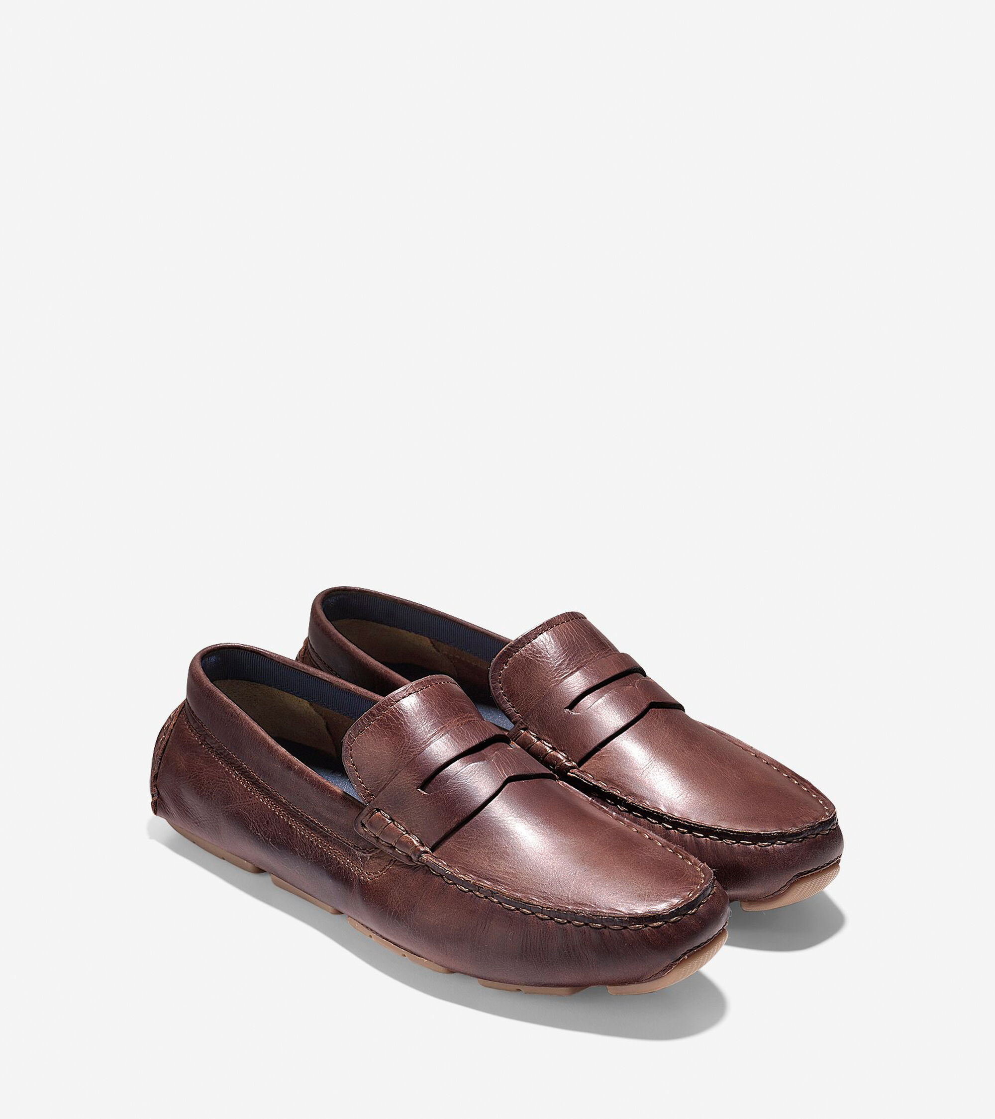 4383c0b60c9 Kelson Penny Loafers in British Tan   Mens Shoes