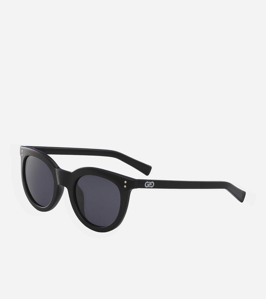 Womens Retro Round Sunglasses