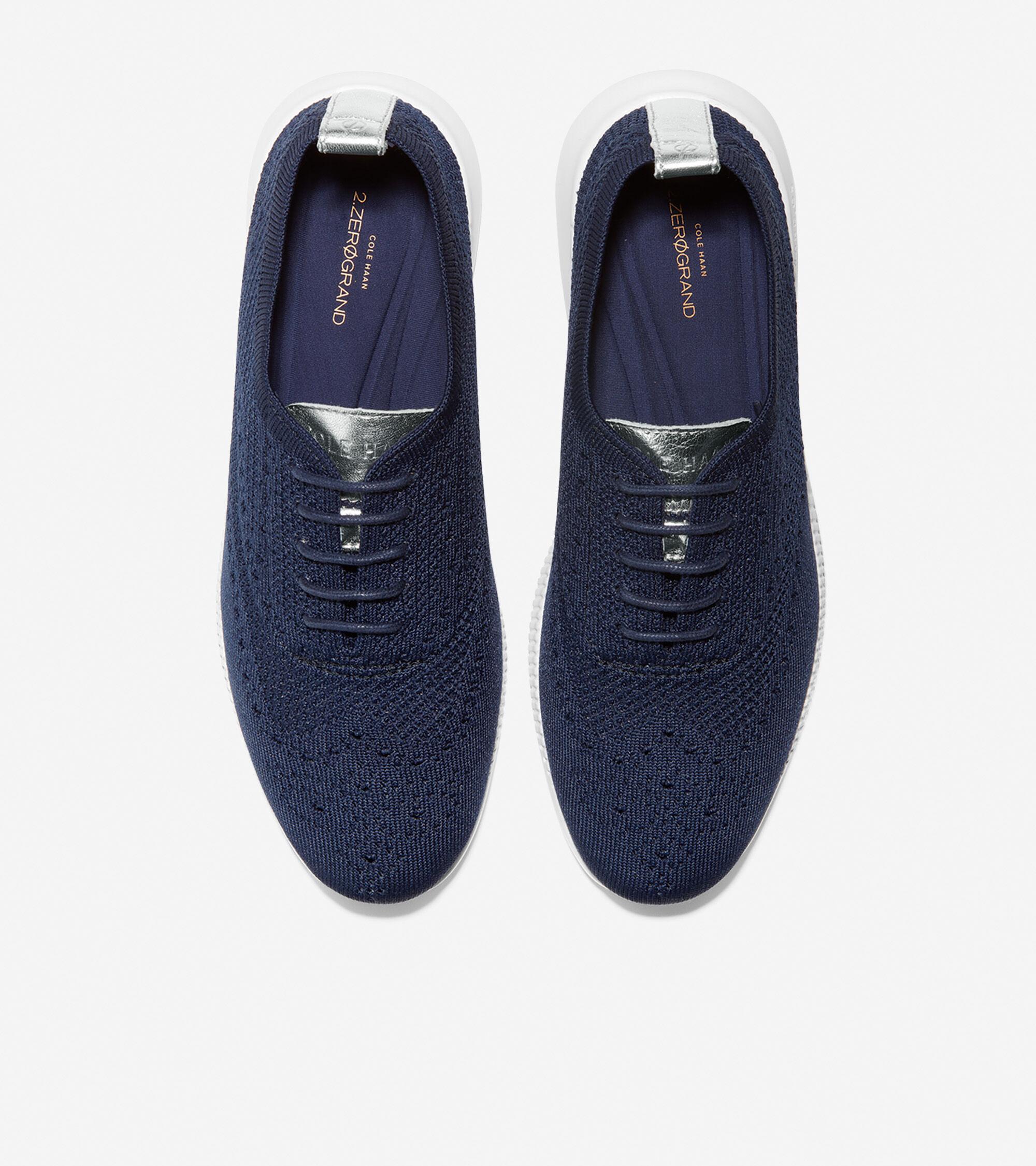 Wingtip Oxford in Marine Blue