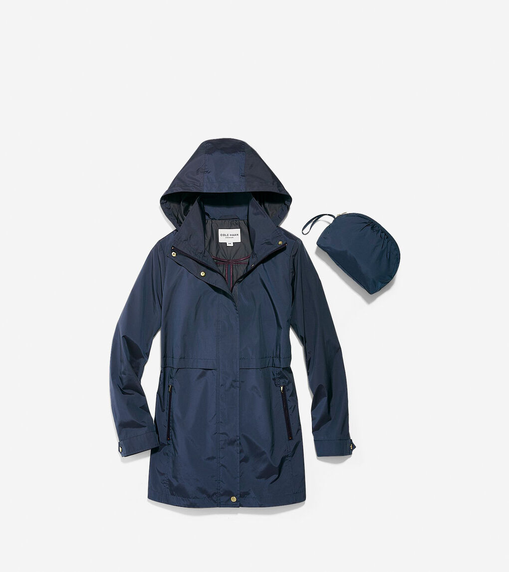 Womens Packable Rain Jacket