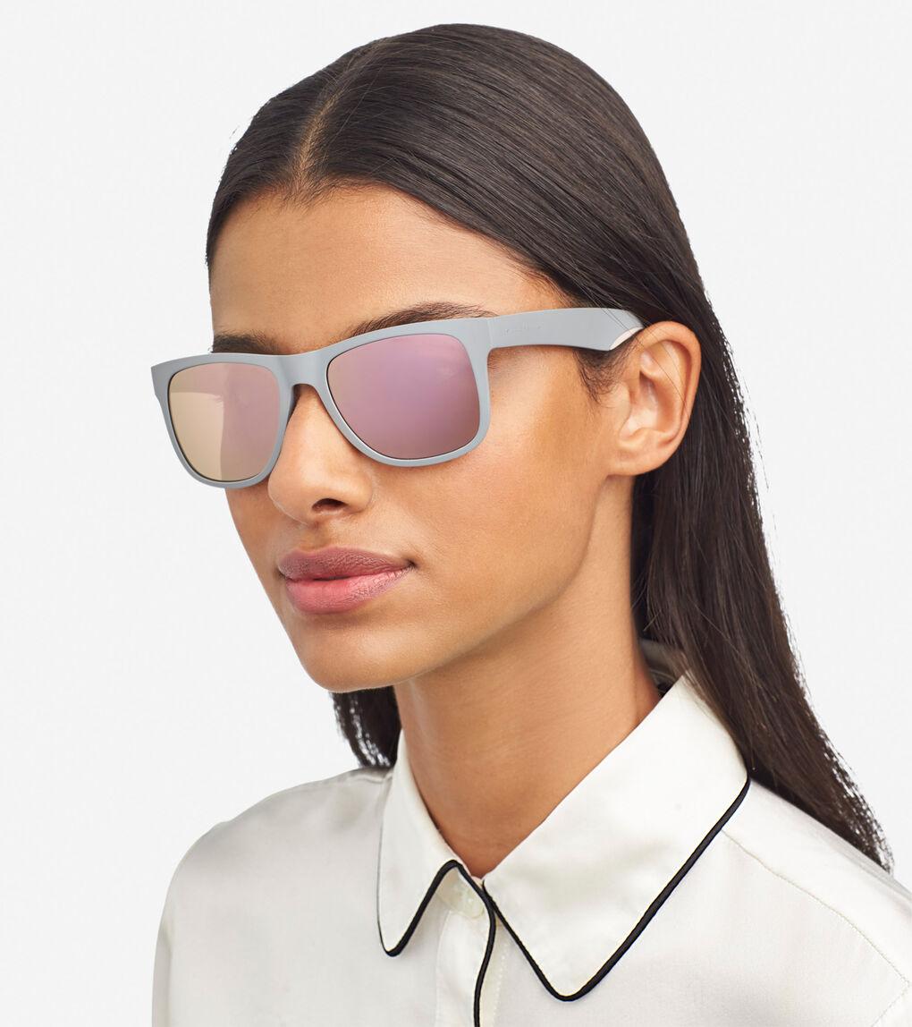Mens ZERØGRAND Sport Rectangle Sunglasses