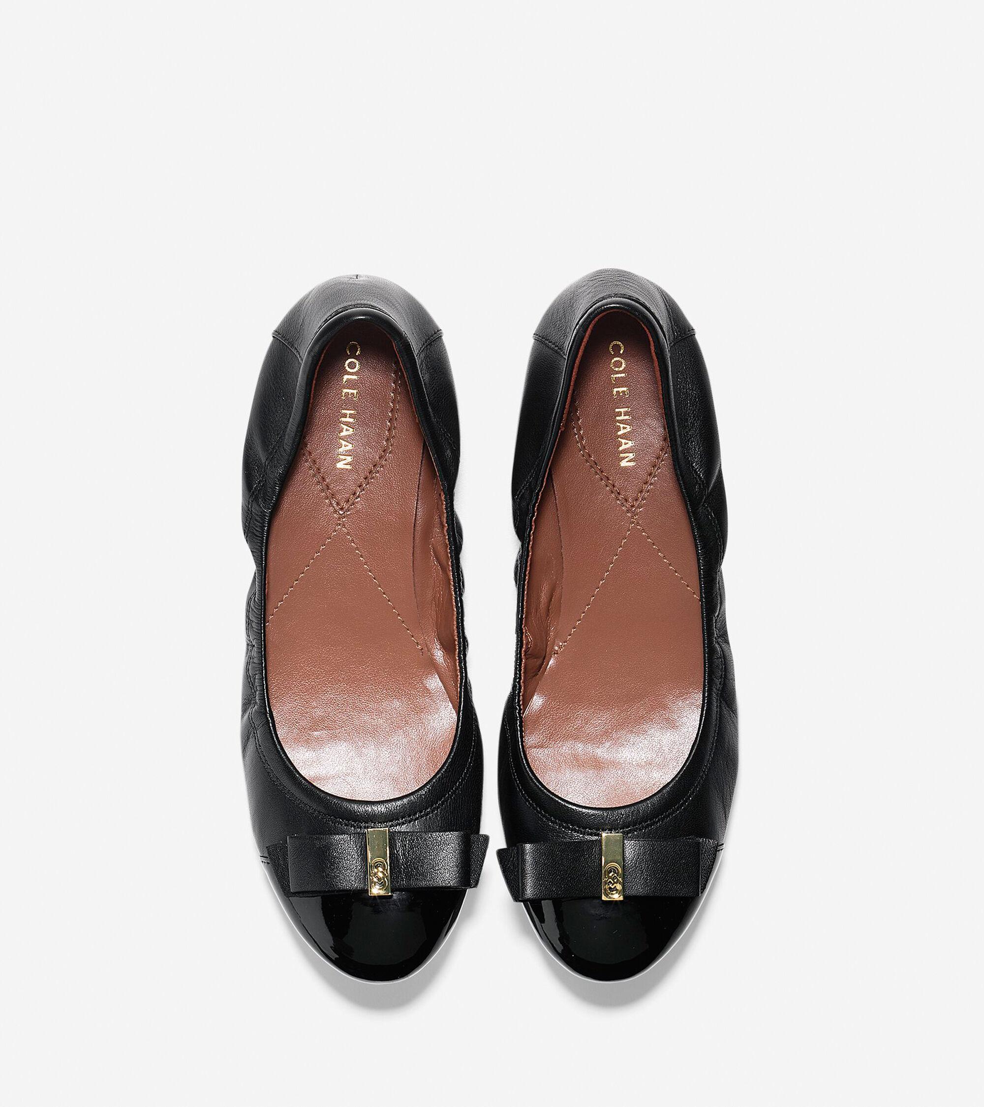 e327cc010f2b Women s Elsie Ballet Flats in Black-Black Patent
