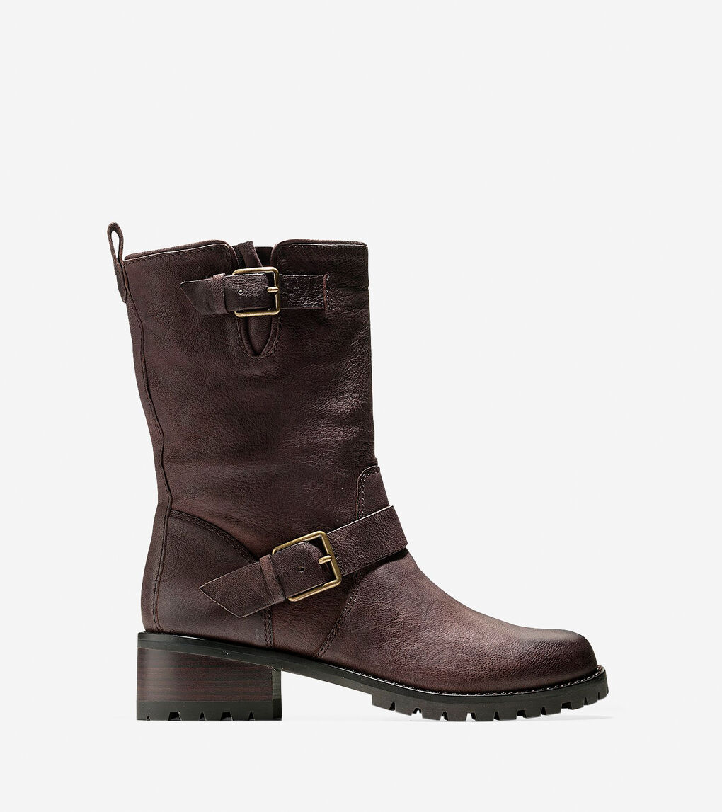 48e4e804b Women's Hemlock Boot (45mm) in Chestnut Leather | Cole Haan US