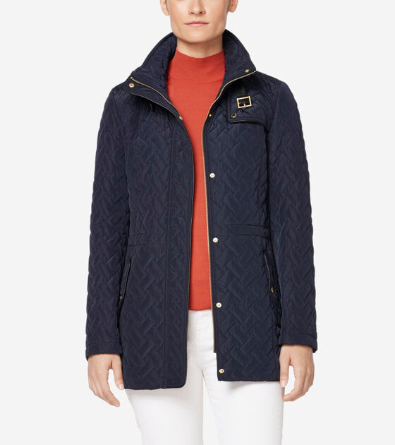 Outerwear > Signature Quilted Short Jacket