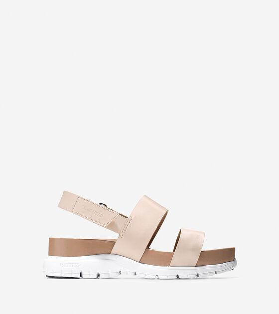 faf33b89c9aa Women s ZEROGRAND Slide Sandals in Sandshell