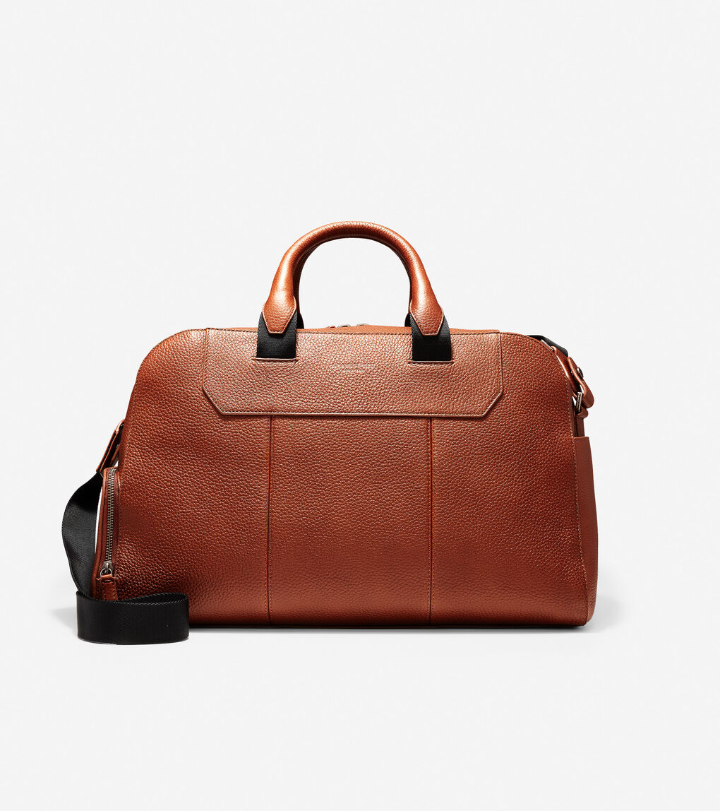 Mens GRANDSERIES Leather Duffle