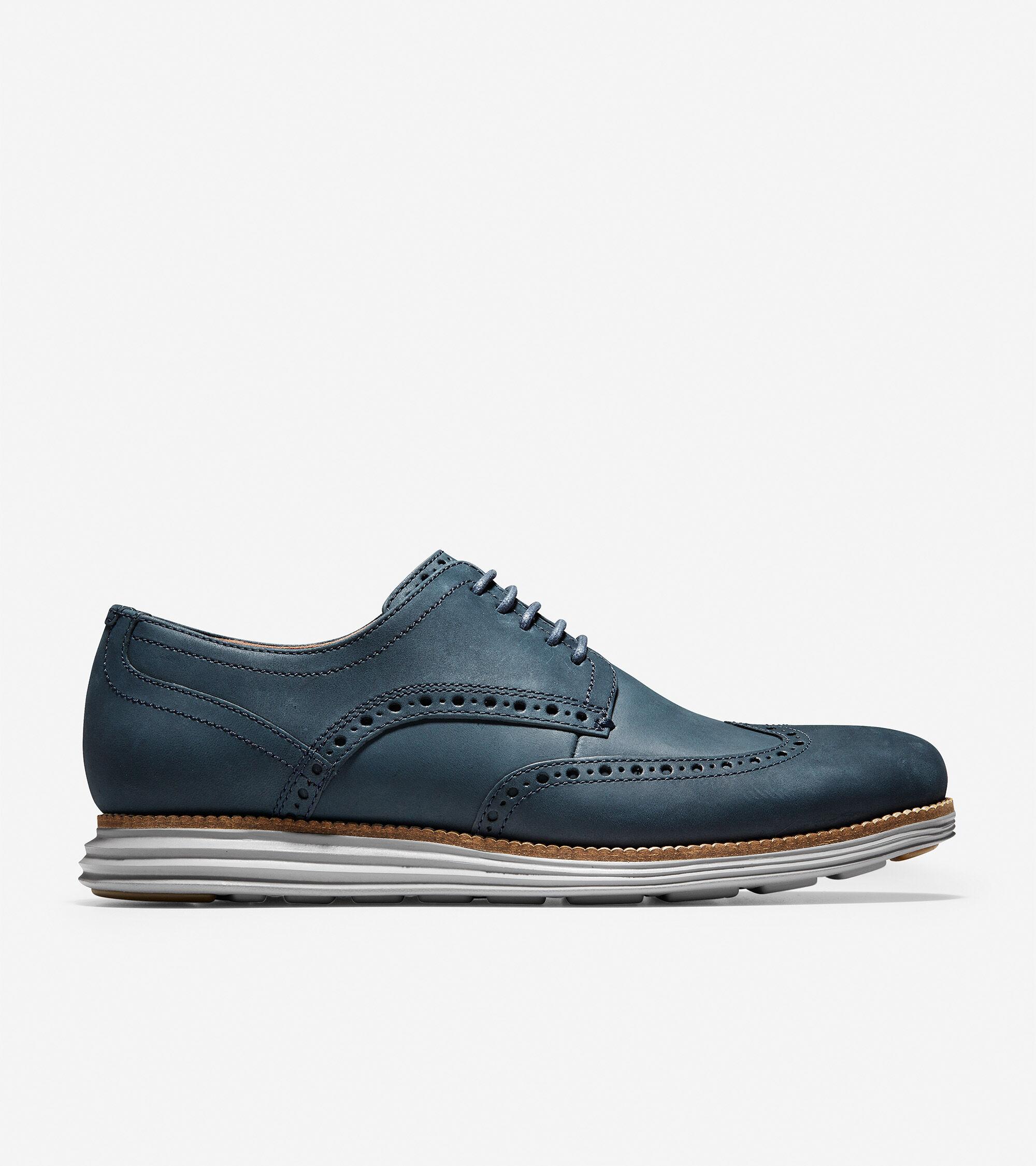 87851af0347 Men s OriginalGrand Wingtip Oxfords in Blazer Blue