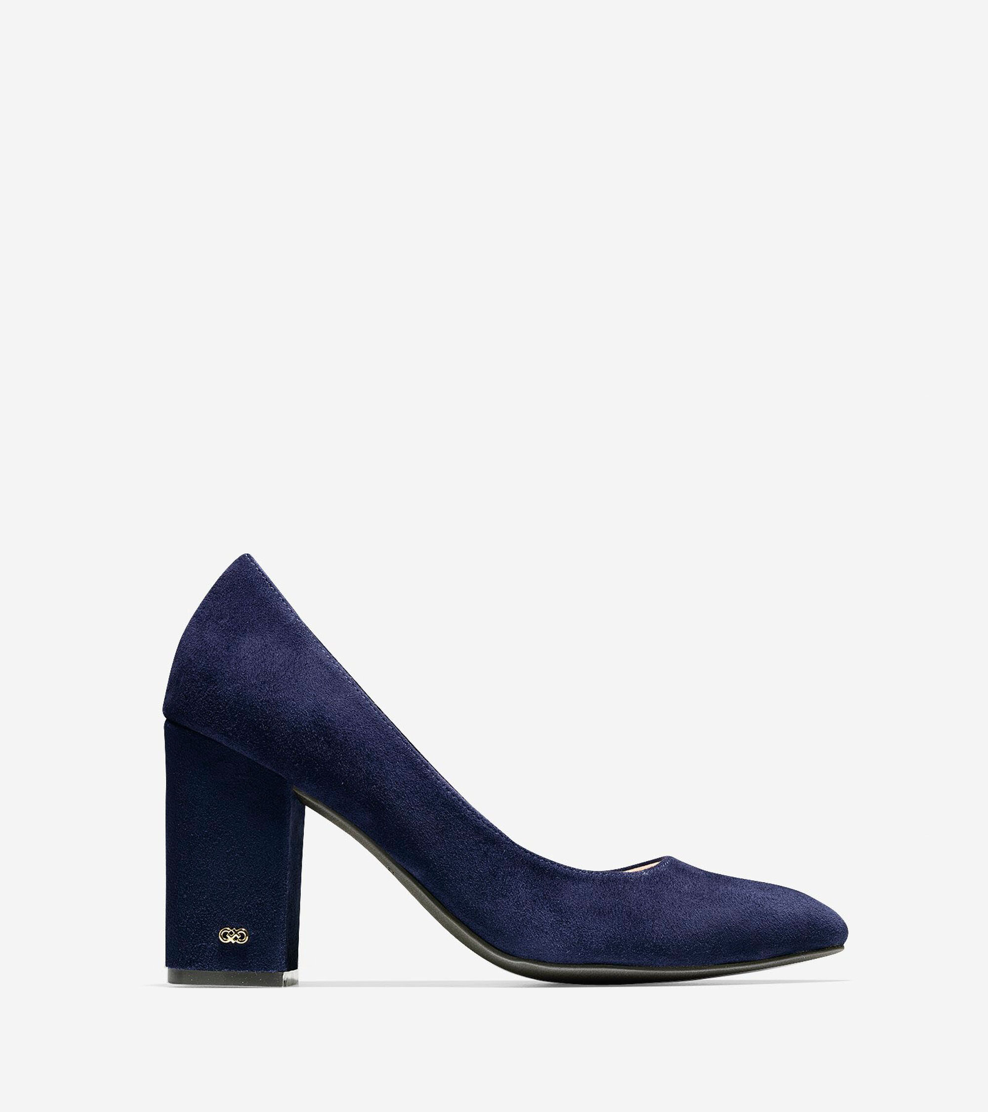 c4593755f75 Women s Alanna Pumps 85mm in Marine Blue Suede