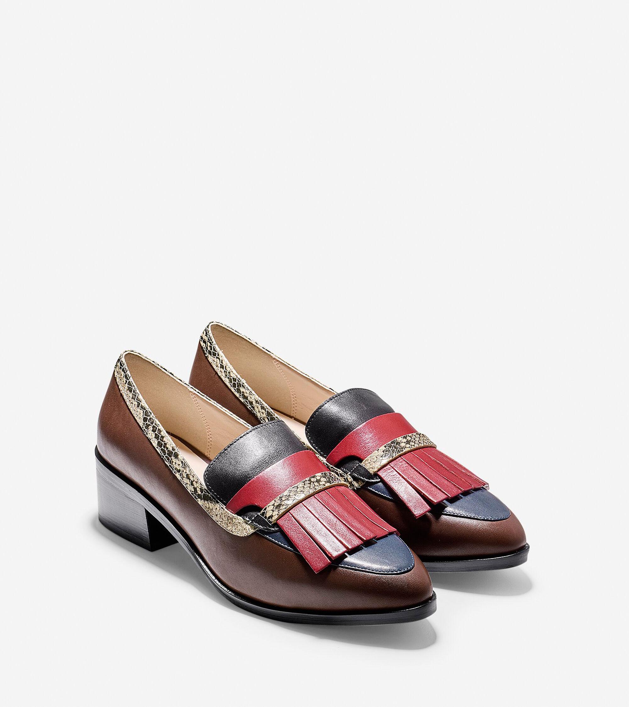 1d55cfab64e Women s Margarite Loafers in Chestnut-Blue-Black-Roccia Python ...