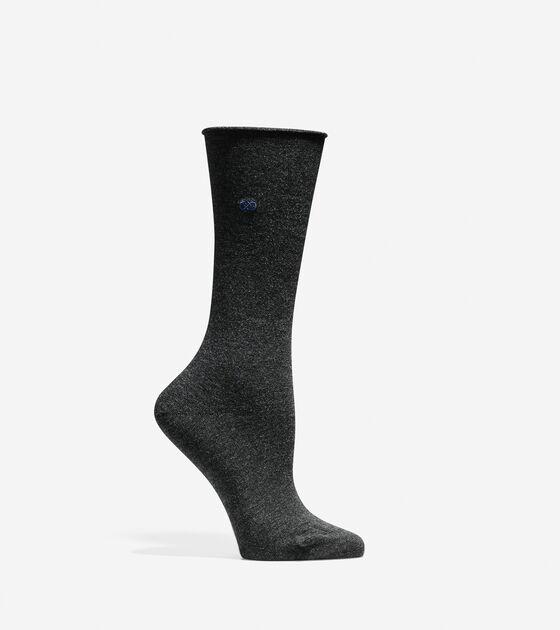 Socks & Tights > Roll Top Crew Socks