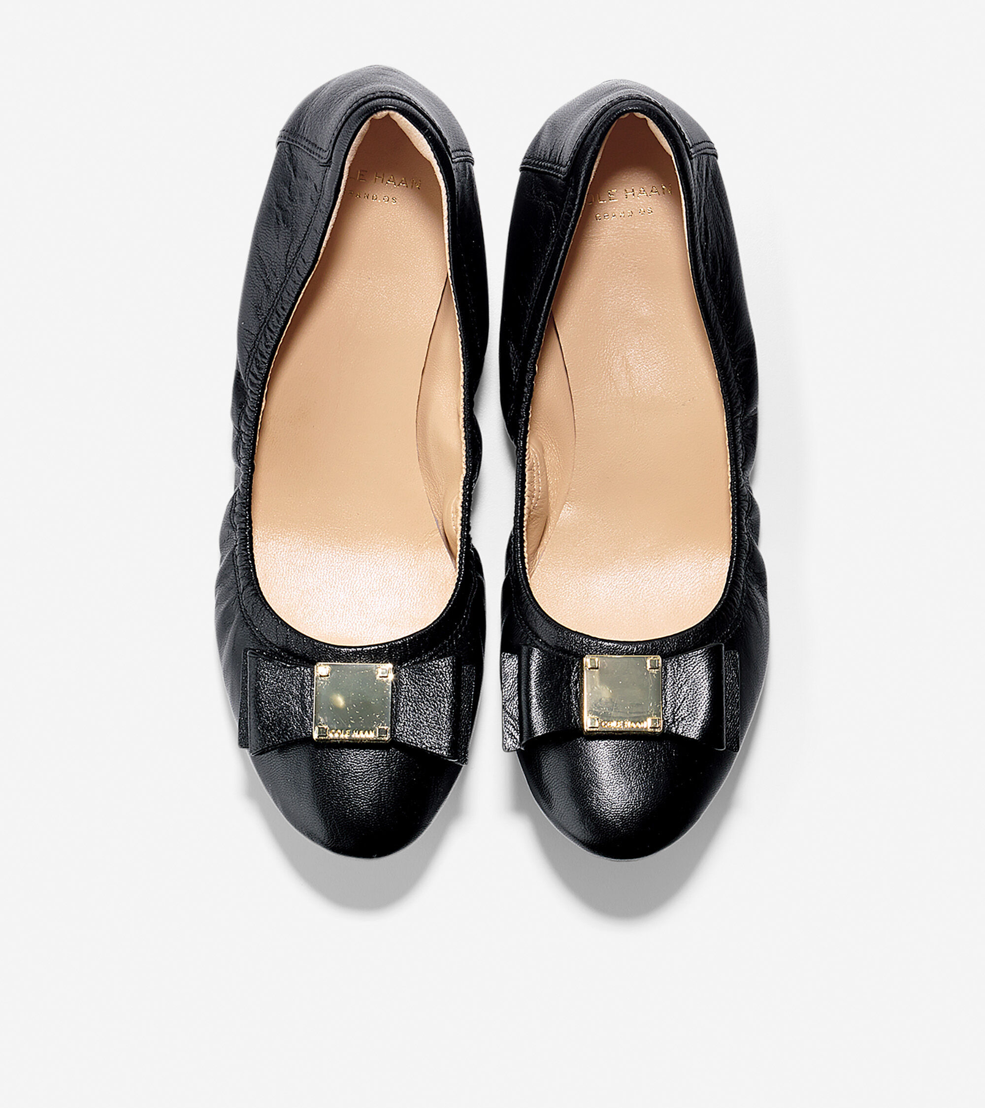 1e6e1c2401 Women's Tali Bow Ballet Flats in Black | Cole Haan