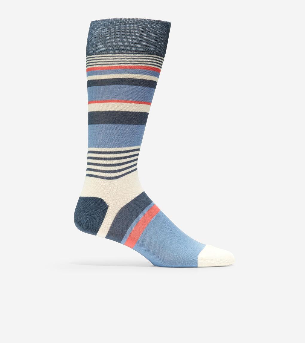 MENS City Stripe Crew Socks
