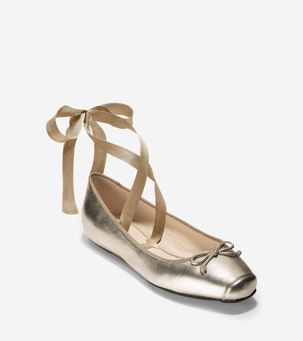 Womens Downtown Ballet Flat